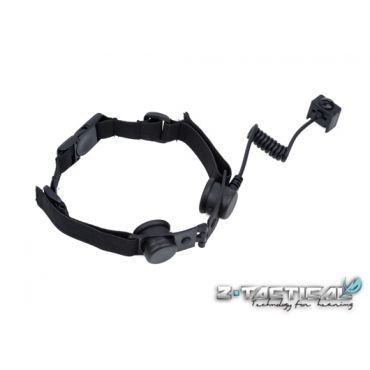 Z-Tactical Z045 Throat Mic Adapter ( Z 045 ) ( Black )