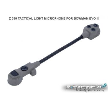 Z-Tactical LIGHT MICROPHONE FOR BOWMAN EVO III Z 030 ( BK )