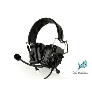 Z-Tactical ZCOMTAC IV IN-THE-EAR HEADSET ( BK ) ( Z 038 )