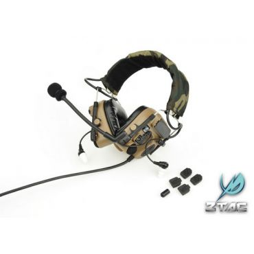 Z-Tactical ZCOMTAC IV IN-THE-EAR HEADSET ( DE ) ( Z 038 )