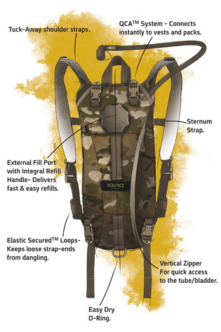 Tactical 3L Hydration Pack